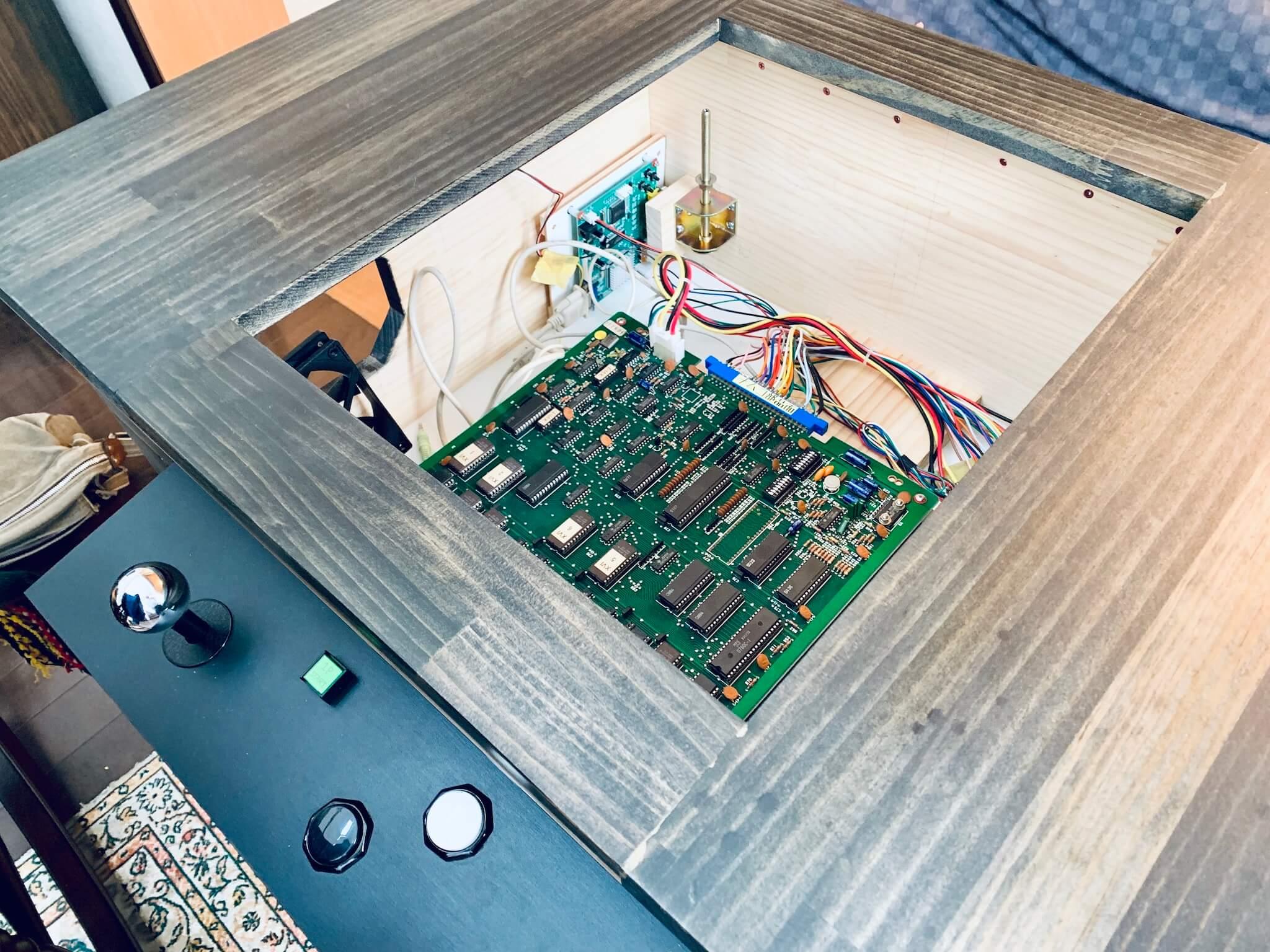 30日目:Xevious筐体を作って展示した